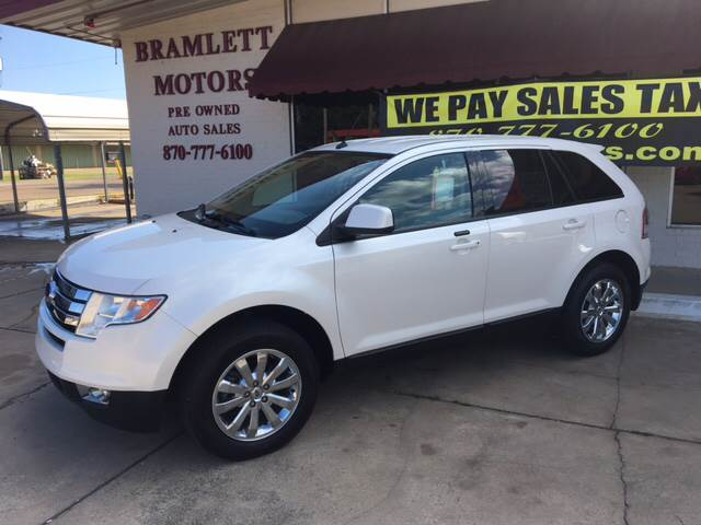 2010 ford edge sel 4dr crossover in hope ar bramlett motors