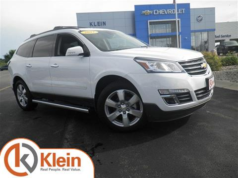 2017 Chevrolet Traverse for sale in Clintonville WI