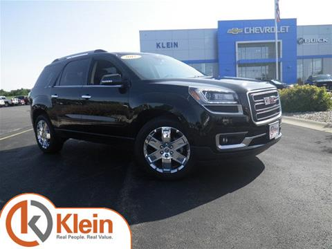 2017 GMC Acadia Limited for sale in Clintonville WI