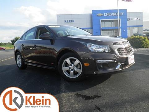 2015 Chevrolet Cruze for sale in Clintonville WI