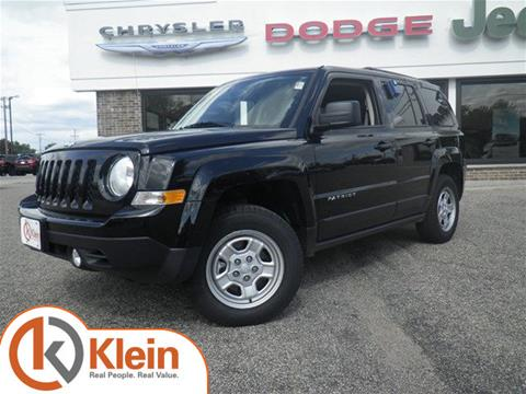 2017 Jeep Patriot for sale in Clintonville WI