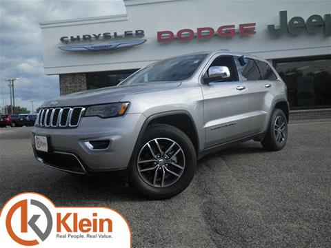 2017 Jeep Grand Cherokee for sale in Clintonville WI