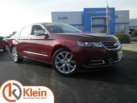 2017 Chevrolet Impala for sale in Clintonville, WI