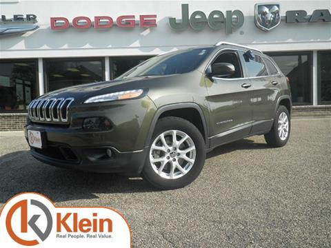2014 Jeep Cherokee for sale in Clintonville, WI