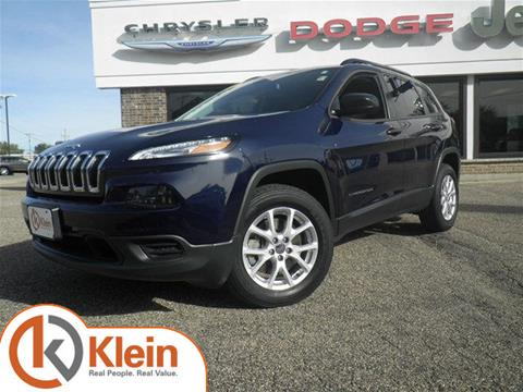 2016 Jeep Cherokee for sale in Clintonville, WI
