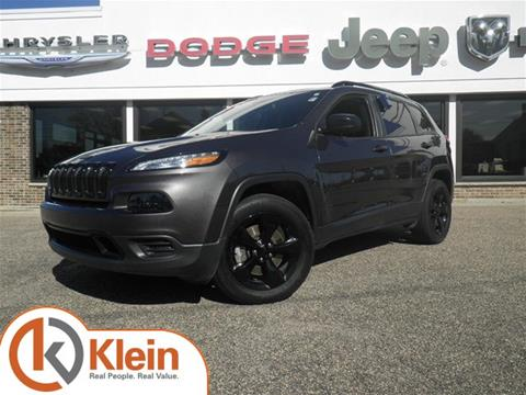 2016 Jeep Cherokee for sale in Clintonville WI