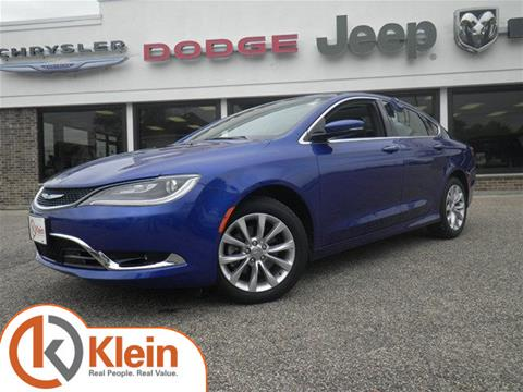 2015 Chrysler 200 for sale in Clintonville, WI