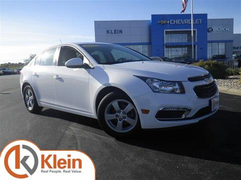 2016 Chevrolet Cruze Limited for sale in Clintonville WI
