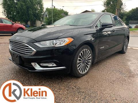 Cars For Sale In Wisconsin >> 2017 Ford Fusion Hybrid For Sale In Clintonville Wi