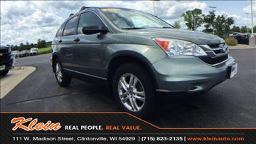 2010 Honda CR-V for sale in Clintonville, WI