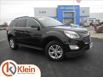 2016 Chevrolet Equinox for sale in Clintonville, WI