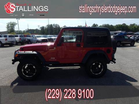2005 Jeep Wrangler for sale in Thomasville, GA