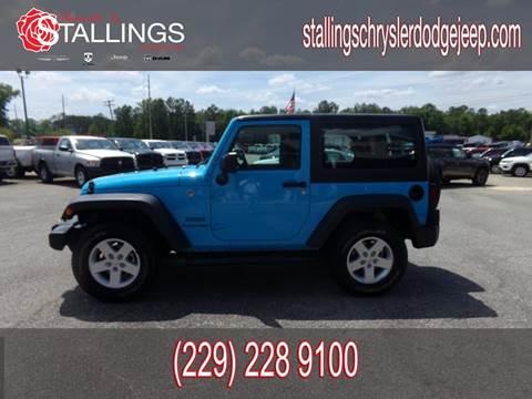 2018 Jeep Wrangler for sale in Thomasville, GA