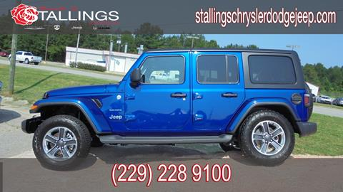 2018 Jeep Wrangler Unlimited for sale in Thomasville, GA
