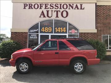 1999 Chevrolet Blazer for sale in Fort Wayne, IN