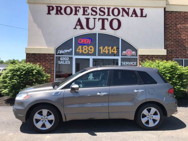 Acura Rdx SHAWD Dr SUV In Fort Wayne IN Professional Auto - Acura 2007 rdx
