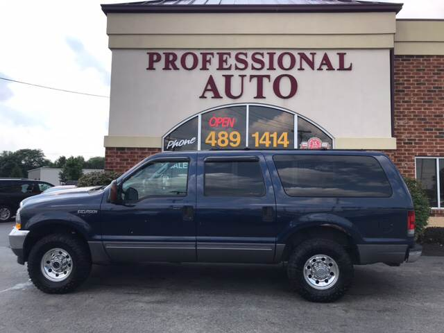 Ford Excursion Xlt Wd Dr Suv Fort Wayne In
