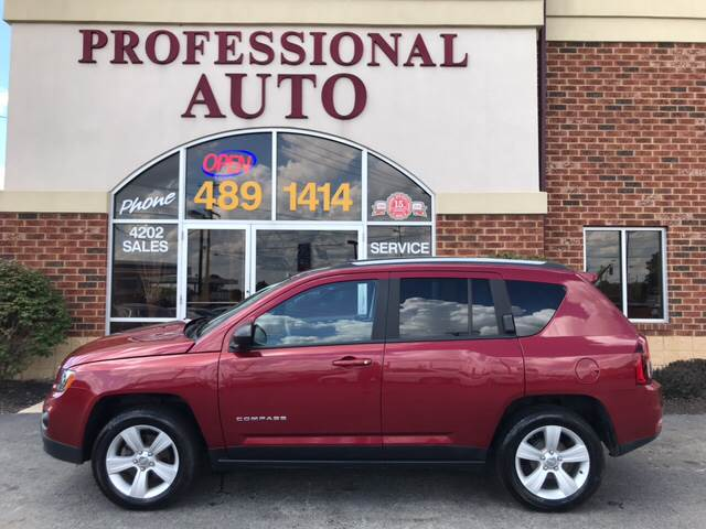 2016 jeep compass sport 4dr suv in fort wayne in professional auto sales service. Black Bedroom Furniture Sets. Home Design Ideas