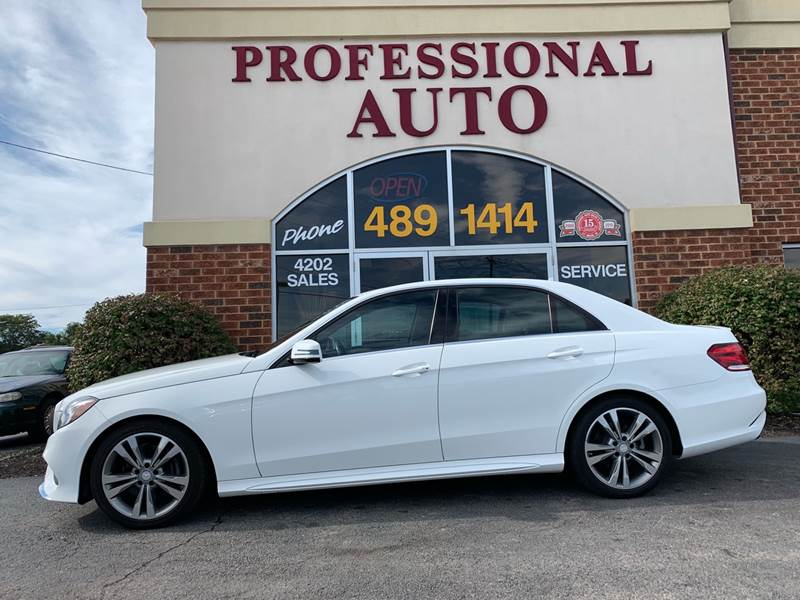 2014 Mercedes Benz E Class E 350 Luxury 4dr Sedan   Fort Wayne IN