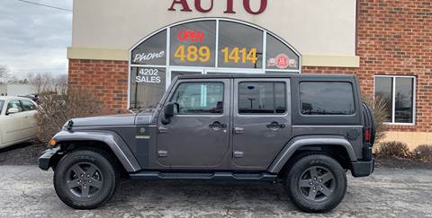 2016 Jeep Wrangler Unlimited for sale in Fort Wayne, IN