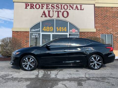 2016 Nissan Maxima for sale at Professional Auto Sales & Service in Fort Wayne IN