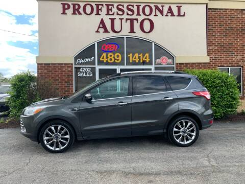 2015 Ford Escape for sale at Professional Auto Sales & Service in Fort Wayne IN