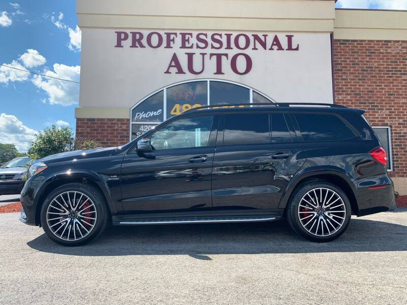 2019 Mercedes-Benz GLS for sale at Professional Auto Sales & Service in Fort Wayne IN
