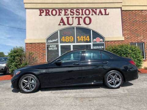 2019 Mercedes-Benz C-Class for sale at Professional Auto Sales & Service in Fort Wayne IN