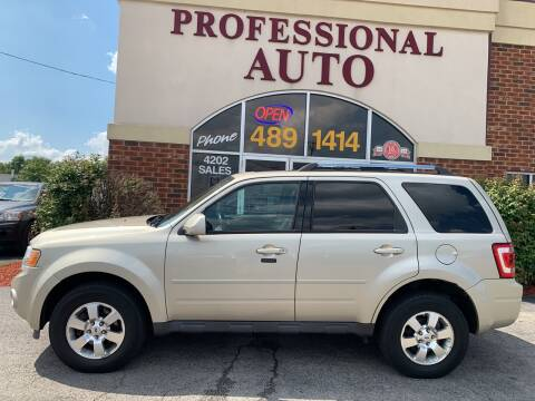 2012 Ford Escape for sale at Professional Auto Sales & Service in Fort Wayne IN