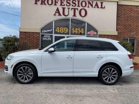 2017 Audi Q7 for sale at Professional Auto Sales & Service in Fort Wayne IN