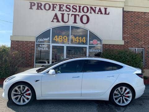 2019 Tesla Model 3 for sale at Professional Auto Sales & Service in Fort Wayne IN