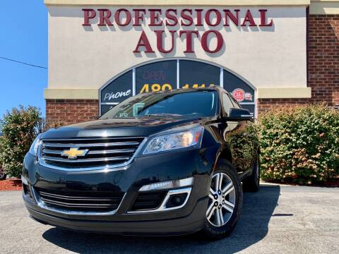 2015 Chevrolet Traverse for sale at Professional Auto Sales & Service in Fort Wayne IN