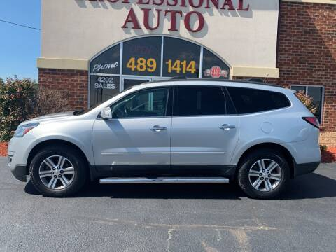 2016 Chevrolet Traverse for sale at Professional Auto Sales & Service in Fort Wayne IN