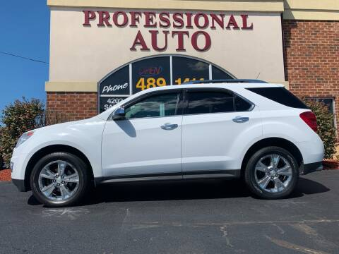 2010 Chevrolet Equinox for sale at Professional Auto Sales & Service in Fort Wayne IN