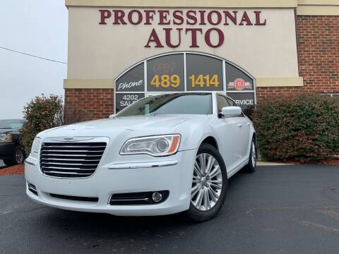 2014 Chrysler 300 for sale at Professional Auto Sales & Service in Fort Wayne IN