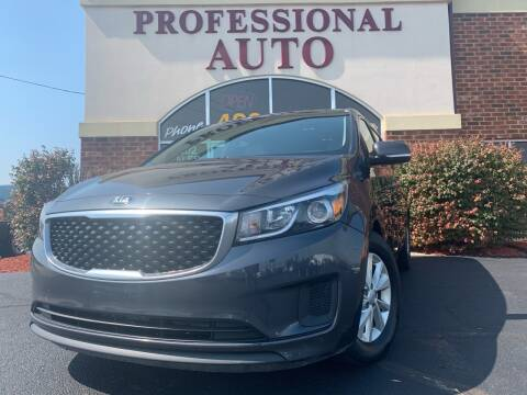 2016 Kia Sedona for sale at Professional Auto Sales & Service in Fort Wayne IN