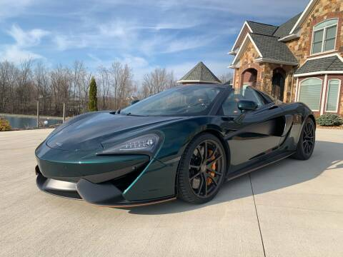 2018 McLaren 570S Spider for sale at Professional Auto Sales & Service in Fort Wayne IN