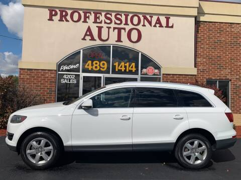 2011 Audi Q7 for sale at Professional Auto Sales & Service in Fort Wayne IN