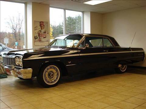 1964 Chevrolet Impala for sale at Colonial Auto of Worcester Inc in Worcester MA