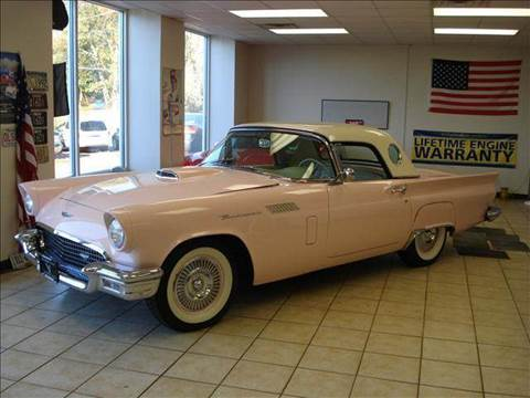 1957 Ford Thunderbird for sale at Colonial Auto of Worcester Inc in Worcester MA