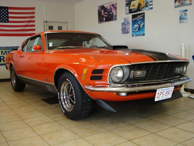1970 Ford Mustang for sale at Colonial Auto of Worcester Inc in Worcester MA