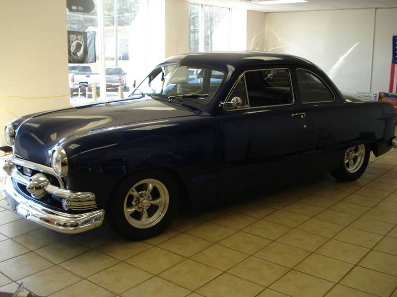 1951 Ford Tudor for sale at Colonial Auto of Worcester Inc in Worcester MA