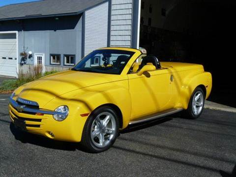 2004 Chevrolet SSR for sale at Colonial Auto of Worcester Inc in Worcester MA