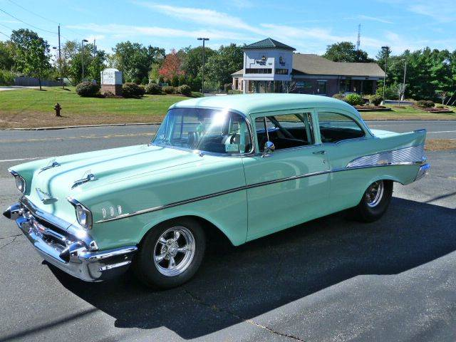 1957 Chevrolet 210 for sale at Colonial Auto of Worcester Inc in Worcester MA