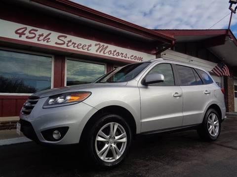 2012 Hyundai Santa Fe for sale in Highland, IN