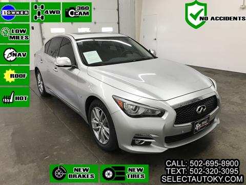 2014 Infiniti Q50 for sale in Frankfort, KY