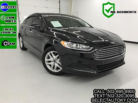 2015 Ford Fusion for sale in Frankfort, KY