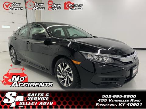 2016 Honda Civic for sale in Frankfort, KY