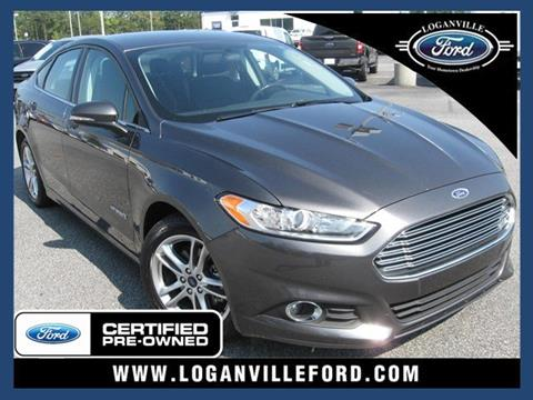 2015 Ford Fusion Hybrid for sale in Loganville, GA
