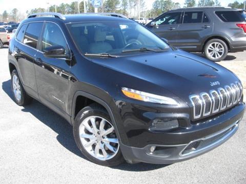 2016 Jeep Cherokee for sale in Loganville, GA